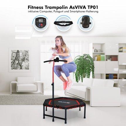 Fitness Trampolin TP01_INKL von AsVIVA online kaufen