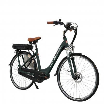 "E-Bike 28"" Hollandrad B14 AsVIVA 36V Elektrofahrrad Pedelec Mittelmotor grau"