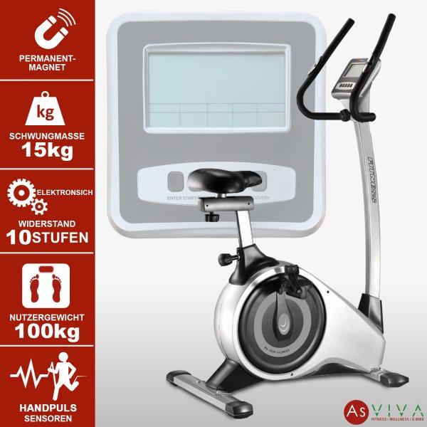 Fitnessgerät Heimtrainer-Ergometer AsVIVA H11 für Einsteiger auf www.asviva.de kaufen