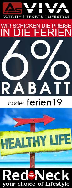 6% Rabatt-Gutschein für Fitnessgeräte, E-Bikes, Gartenmöbel & Keramikgrills im AsVIVA Online Shop.