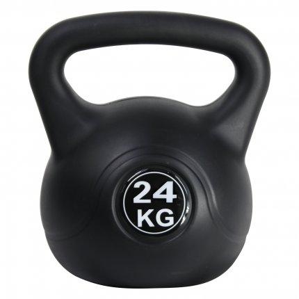 24 kg Kettlebell AsVIVA KB1_24 kunststoffummantelt