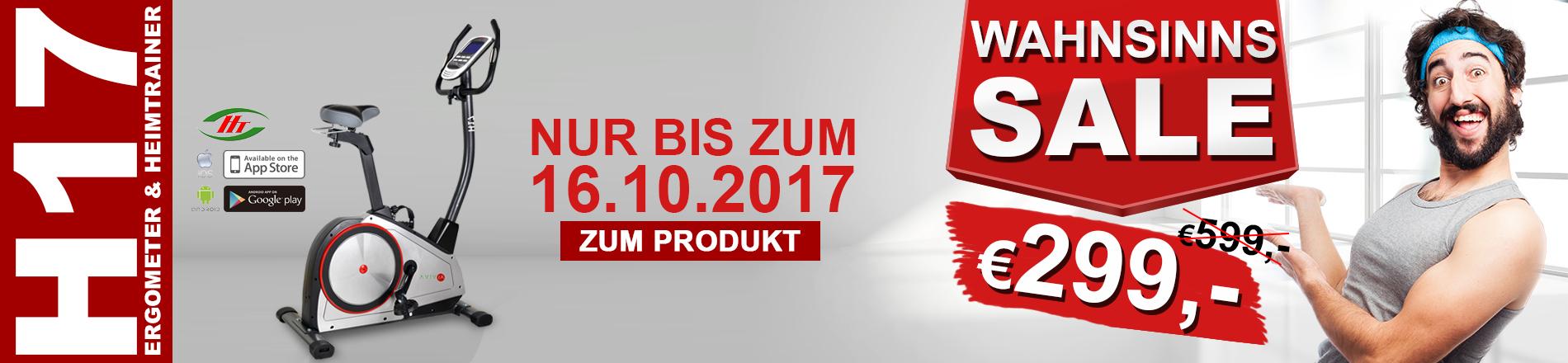 Heimtrainer Top Angebot - nur für kurze Zeit.
