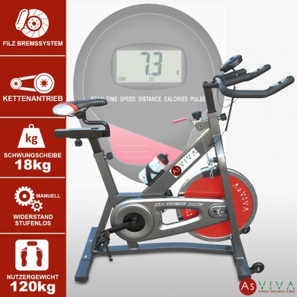 AsVIVA Indoor Cycle Speedbike S4