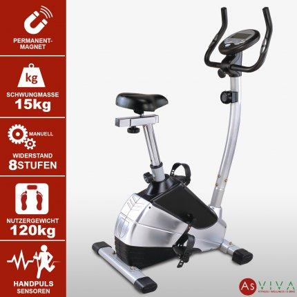 AsVIVA Heimtrainer Fitness Fahrrad H9 direkt vom Hersteller