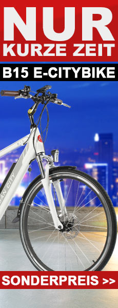 E-Bike AsVIVA B15 Trekkingrad Citybike jetzt zum Vorzugspreis