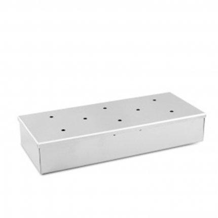 RedNeck Räucherbox aus Edelstahl für jeden Keramik-Grill geeignet