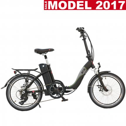 """Model 2017 - E-Bike 20"""" Faltrad B13 AsVIVA 36V Elektro-Klapprad Pedelec schwarz B-Ware"""