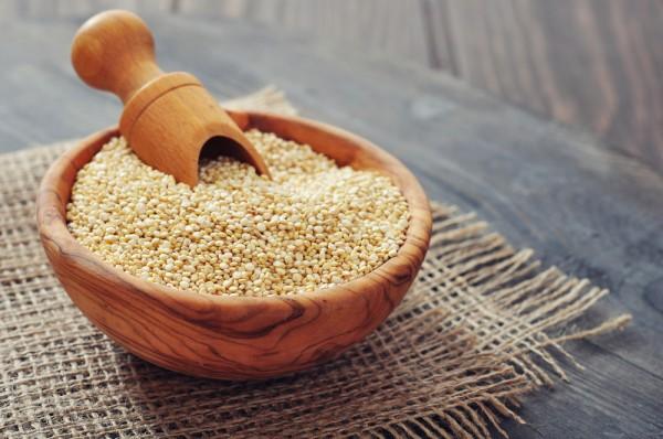 Quinoa als einzelnes Korn