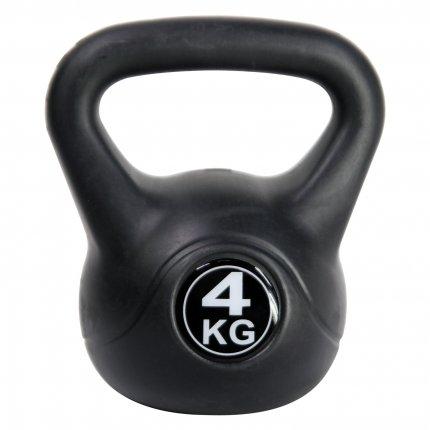 4 kg Kettlebell AsVIVA KB1_4 kunststoffummantelt