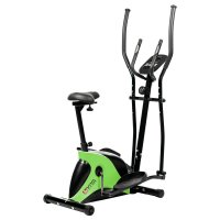 Crosstrainer & Heimtrainer AsVIVA C16 Bluetooth grün 2 in 1 Cardio