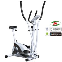 Crosstrainer & Heimtrainer AsVIVA C16 Bluetooth white 2 in 1 Cardio