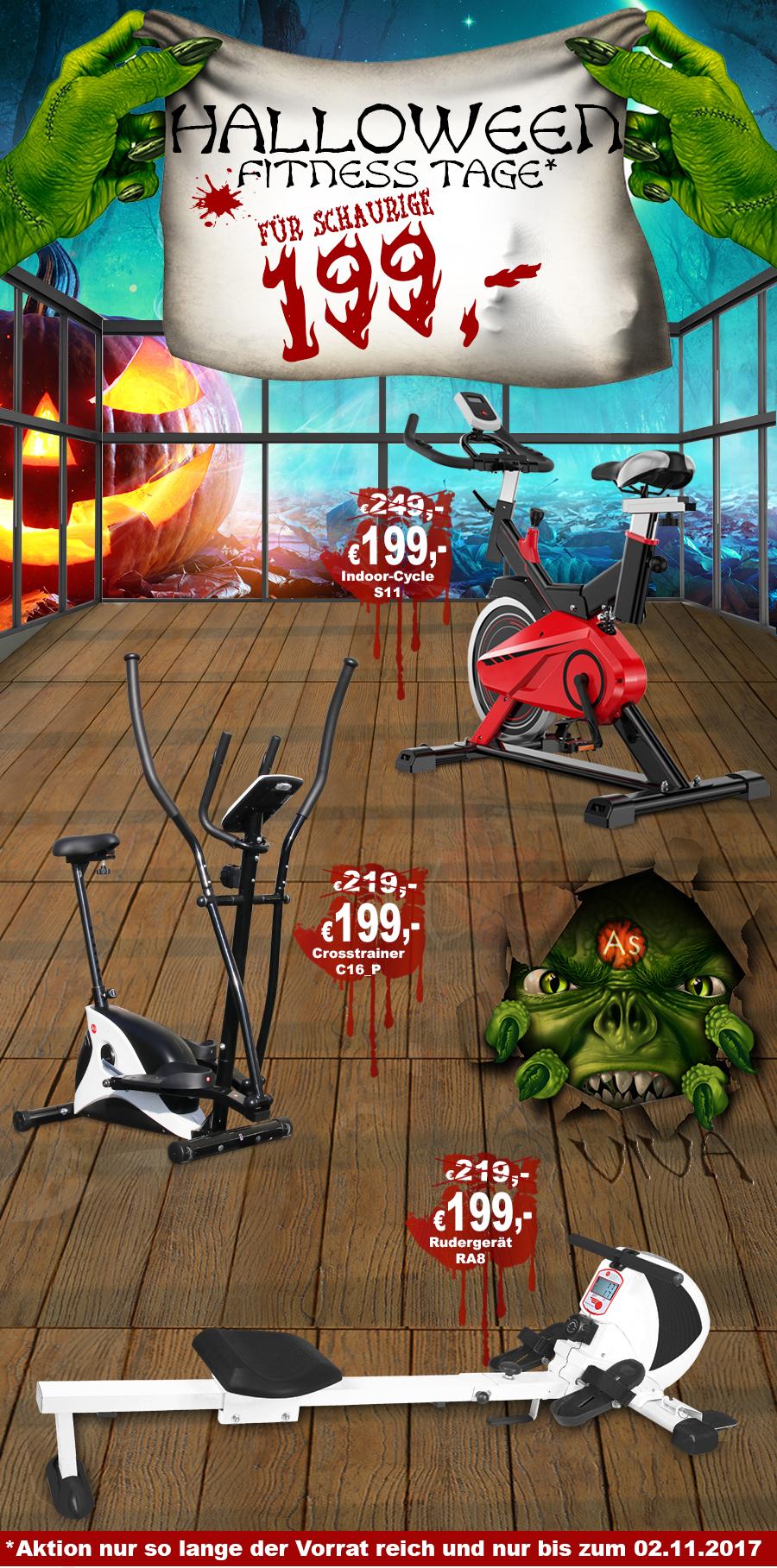 Fitness-Herbst Angebote für Fitnessgeräte
