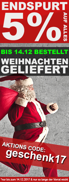 Geschenke Endpurt 5% AUF ALLES - BIS 14.12.2017