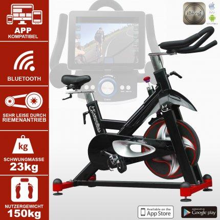 (B-Ware) Indoor Cycle Speedbike AsVIVA S12 Bluetooth