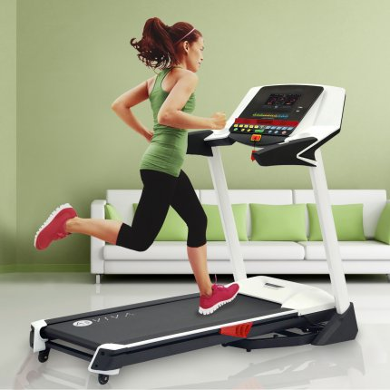 Laufband AsVIVA T14 App Bluetooth Media Treadmill