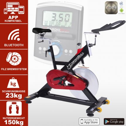 (B-Ware) Indoor Cycle Speedbike CardioBull S13 Bluetooth