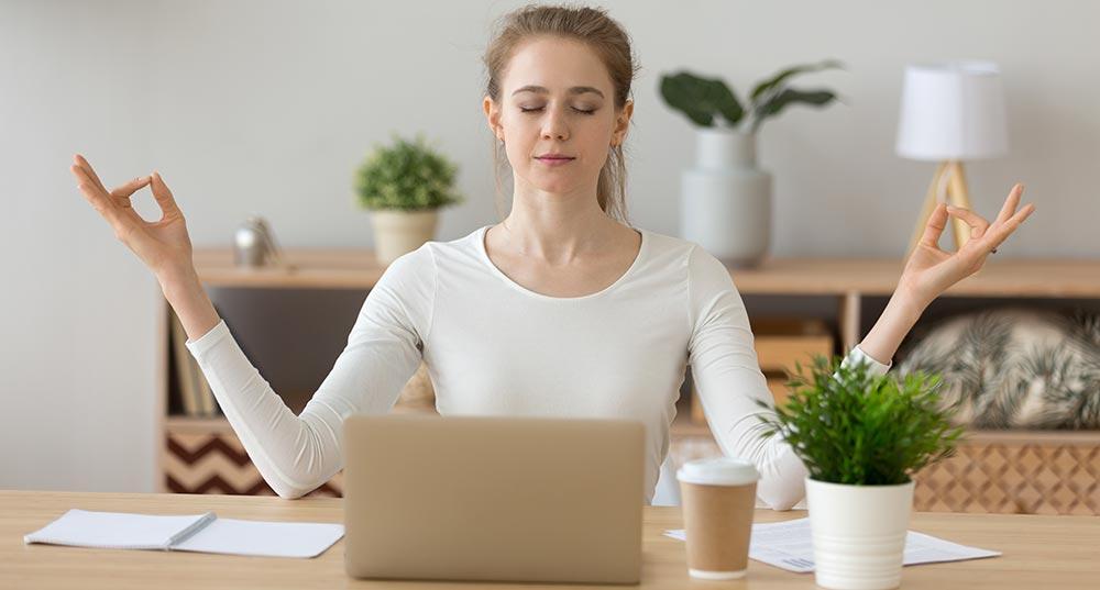 Meditations Apps als Ausgleich gegen Stress