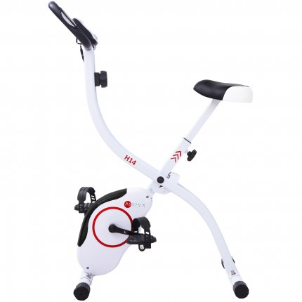 Heimtrainer AsVIVA H14 weiß X-Bike direkt vom Hersteller