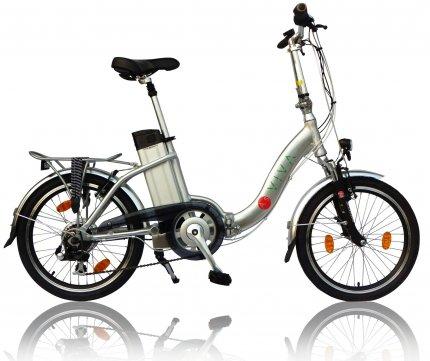 """E-Bike 20"""" Faltrad B7 AsVIVA 36V Elektro-Klapprad Elektrofahrrad Pedelec weiß (B-Ware)"""