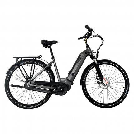 "E-Bike 28"" Hollandrad B14_FBA AsVIVA 36V Elektrofahrrad Pedelec Mittelmotor grau"