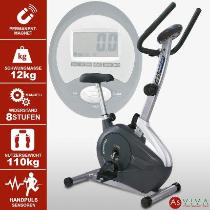 AsVIVA Heimtrainer Fitness Fahrrad H15