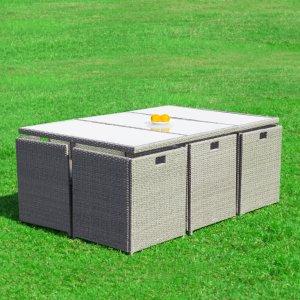 Mehr Info zu RedNeck Gartenmöbel Set Polyrattan 4er Sitzgruppe
