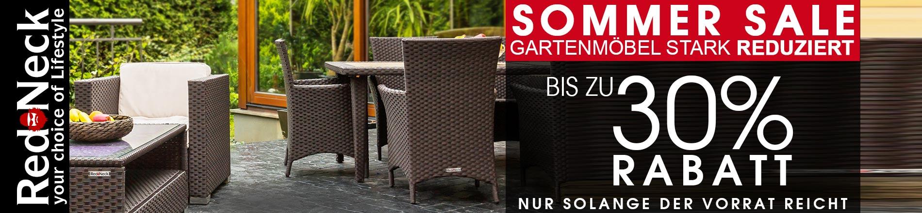 RedNeck Gartenmöbel Sale - jetzt bis zu 30% sparen im AsVIVA Online Shop