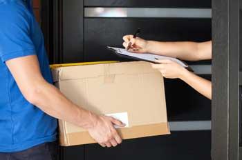 Paketlieferung via GLS