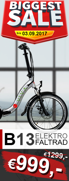 E-Bike Klapprad Top-Angebot AsVIVA B13 kaufen
