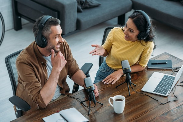 Interview für Podcast