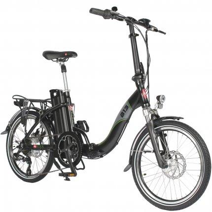 """E-Bike 20"""" Klapprad B13 AsVIVA 36V Elektro-Klapprad Elektrofahrrad Pedelec schwarz matt"""