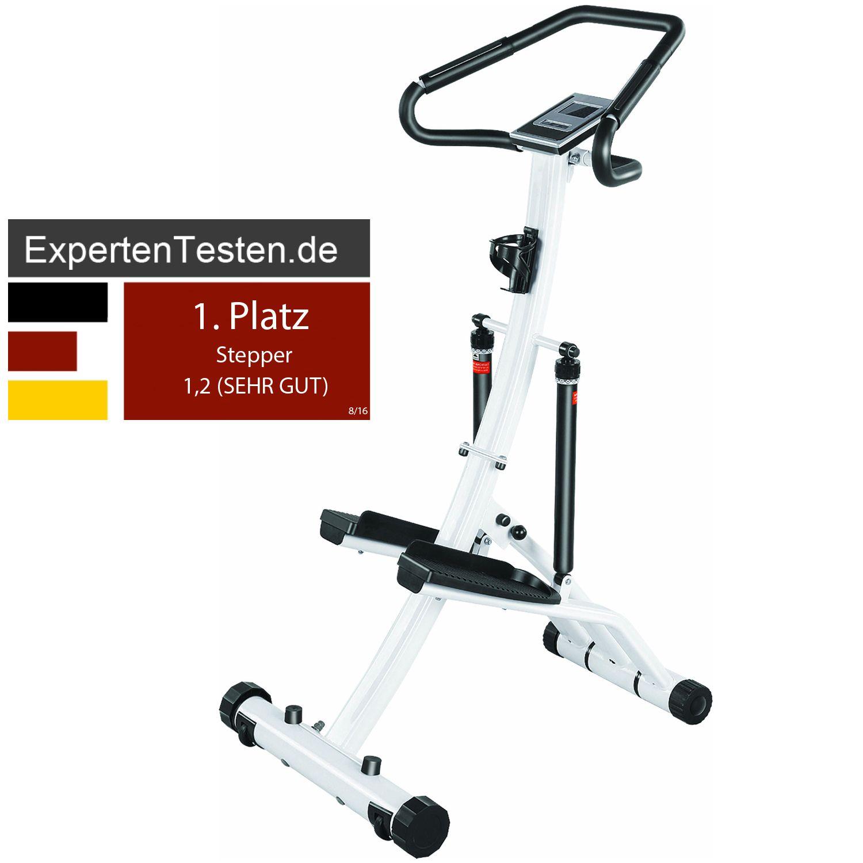 power stepper mit 5 jahre garantie heimtrainer fitness. Black Bedroom Furniture Sets. Home Design Ideas
