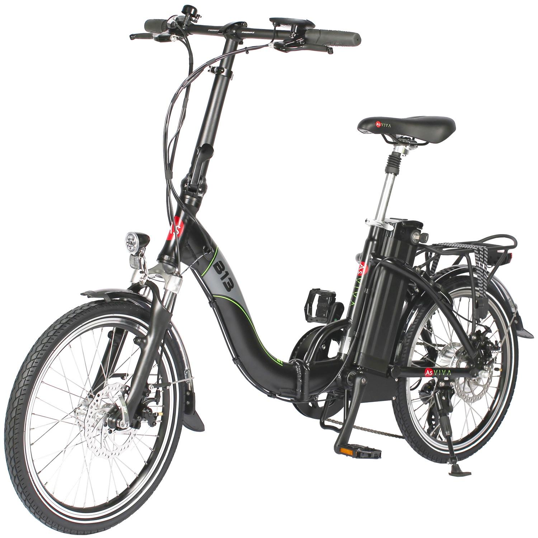 8fb0b411468def E-Bike Faltrad B13 schwarz 20