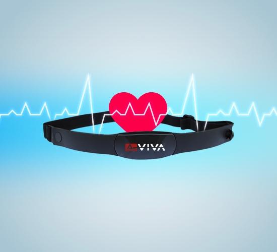 Pulsgurt für messbare Herzfrequenz
