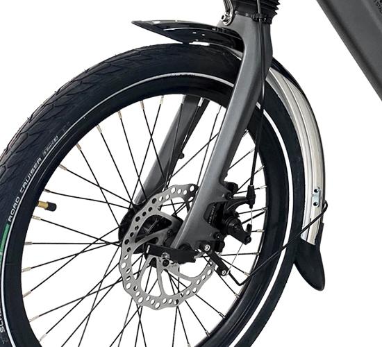 Fahrradständer an Elektrorad