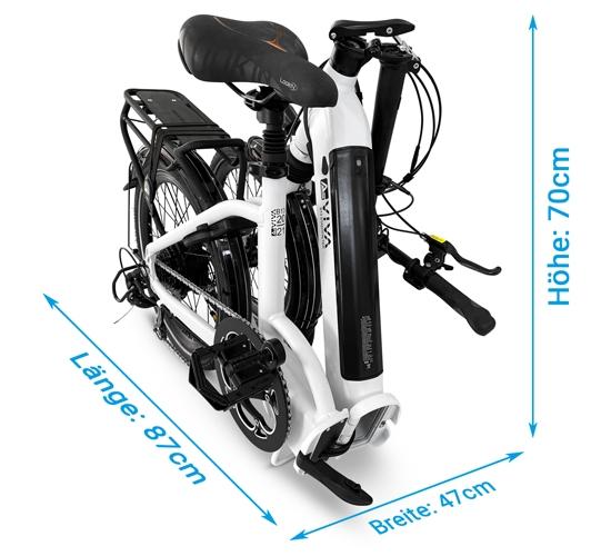 Klappbares E-Bike