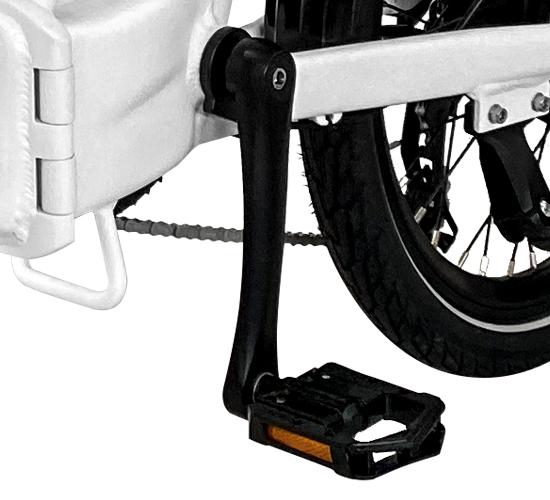 Zusammenklappbare E-Bike-Pedale