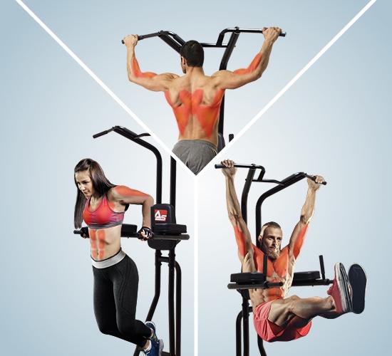 Vielseitige Sportübungen
