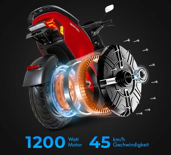 1200Watt starker E-Scooter-Motor