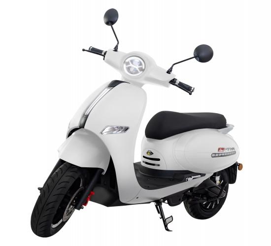 Motoroller mit Doppelakkusystem