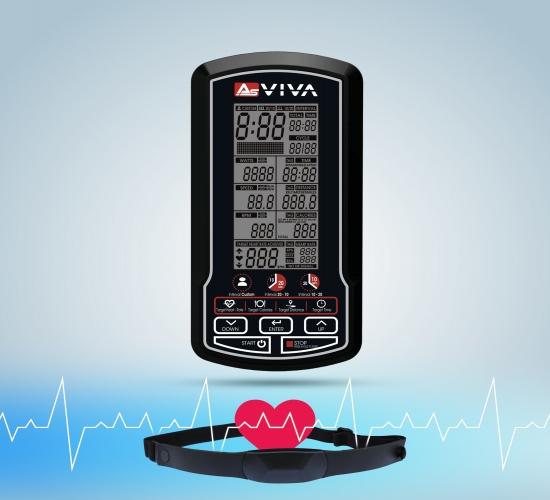 Multifunktioneller Fitnesscomputer für Überblick