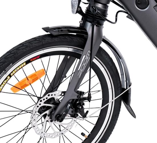 Fahrrad mit allen Details