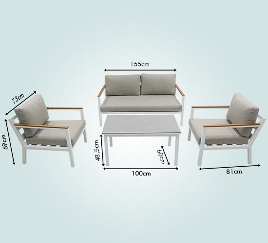 Platz für 4 Personen