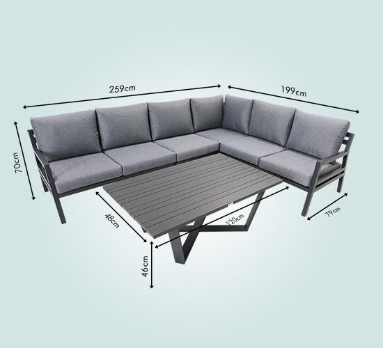 Jede Menge Sitzfläche