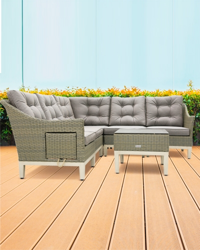 Gartenmöbel für 6 Personen