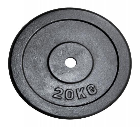 20 kg Gewichtscheibe für Hantel