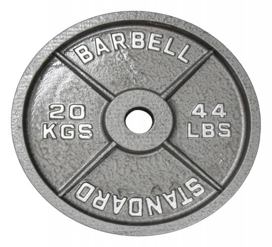 AsVIVA Hantelscheibe 20 kg