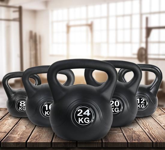 Kugelhantel für vielseitiges Workout