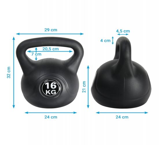 Kugelhantel AsVIVA 16 kg