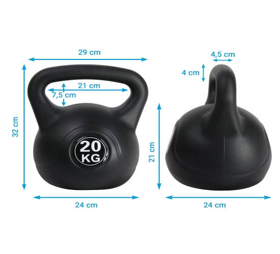 Kugelhantel von AsVIVA Fitness
